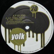 Yolk YOLK020 Techno 2007 - A.P vs. Zoid - Tribal Perks / Freakin